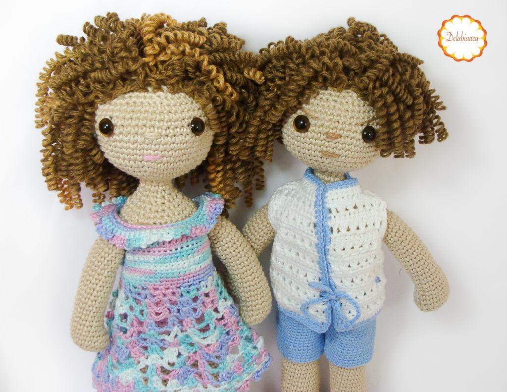 cachos de croche - passo a passo - croche - crochet - amigurumi - artesanato