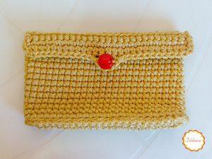 Bolsa de crochê – Dia das mães