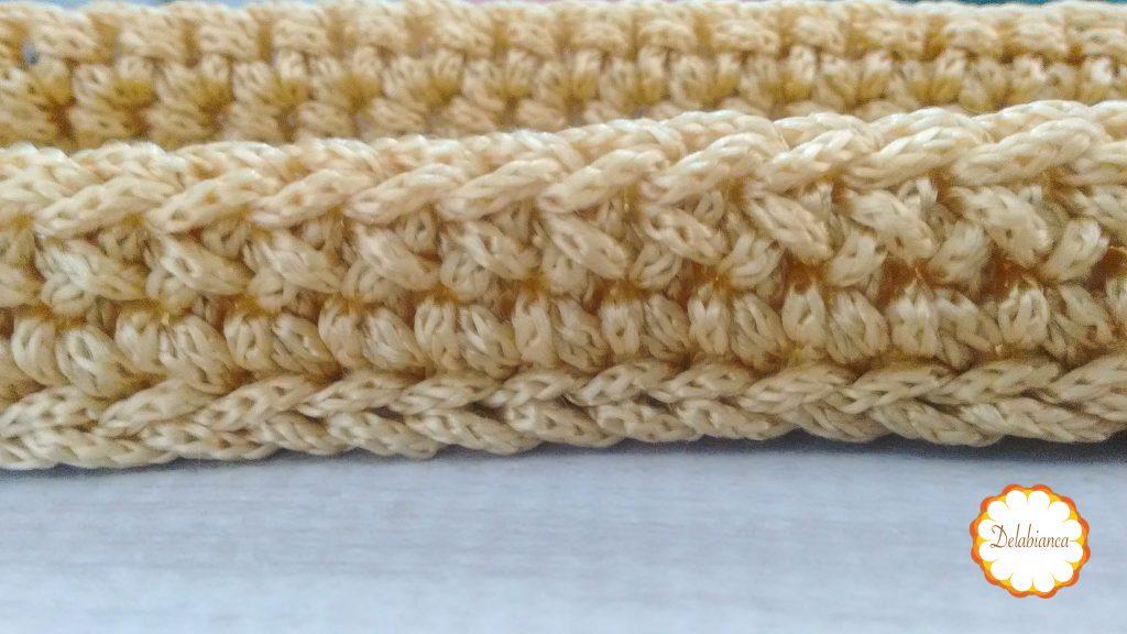 Bolsa de crochê - continuação
